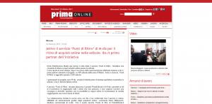 www.primaonline.it - Attivo il servizio 'Punti di Ritiro' di M-dis per il ritiro di acquisti online nelle edicole. Ibs.it primo partner dell'iniziativa