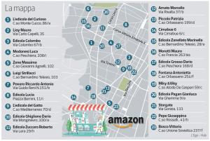 Edicole Amazon Hub Counter Torino