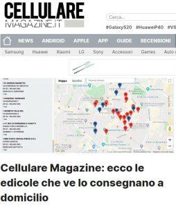Cellulare Magazine: ecco le edicole che ve lo consegnano a domicilio